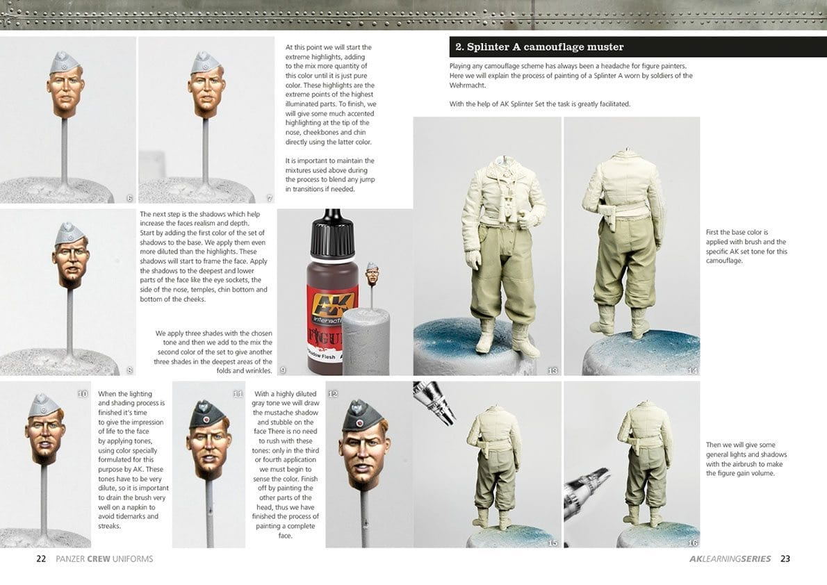 Panzer Crew Uniforms Painting Guide  Learning Series 02