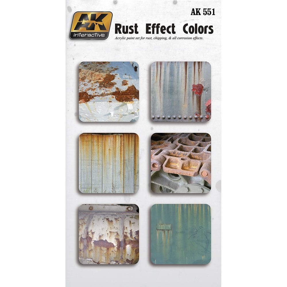 Buy Rust Effect Colors Online For 1320 Ak Interactive