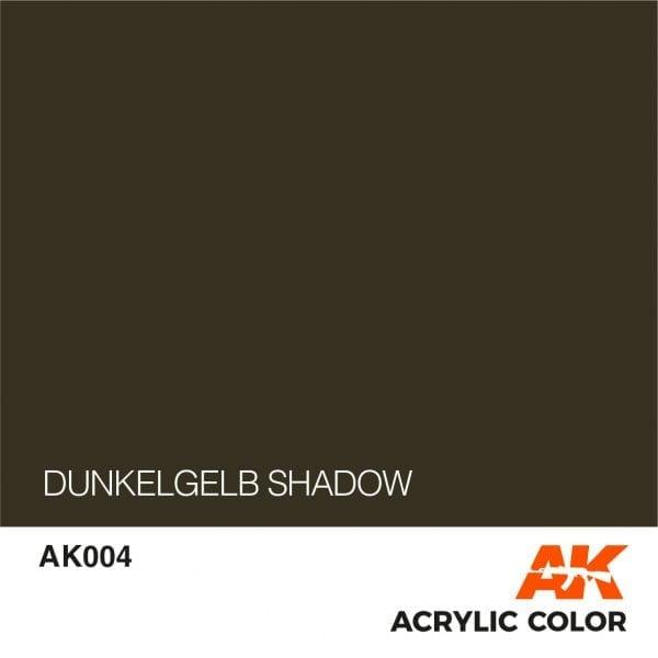 AK004 DUNKELGELB SHADOW