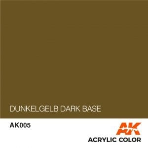 AK005 DUNKELGELB DARK BASE