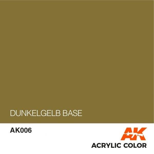 AK006 DUNKELGELB BASE