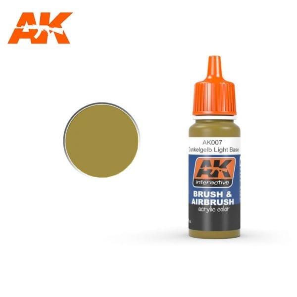 AK007 Dunkelgelb light base AK-Interactive