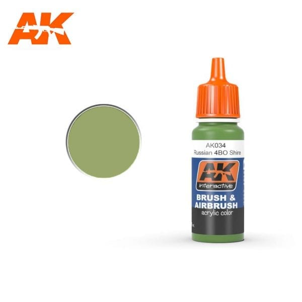 AK034 acrylic paint akinteractive modeling