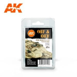 AK120 OIF &OEF - US Vehicles Weathering Set