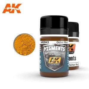 AK2043 weathering pigments akinteractive
