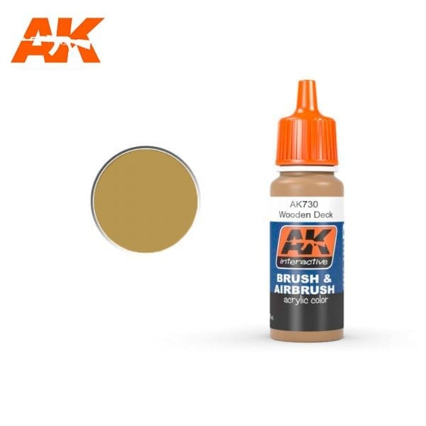AK730 Wooden Deck AK-Interactive