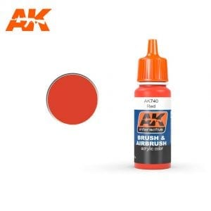 AK740 Red Acrylic Color AK-Interactive