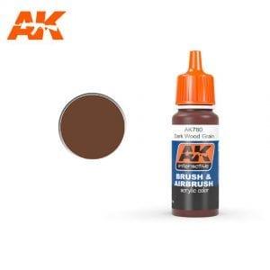 AK780 Dark Wood Grain AK-Interactive
