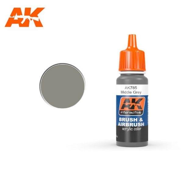 AK785 Middle Grey AK-Interactive