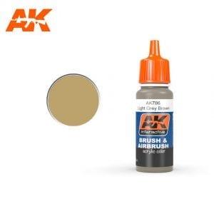 AK786 Light Grey Brown AK-Interactive