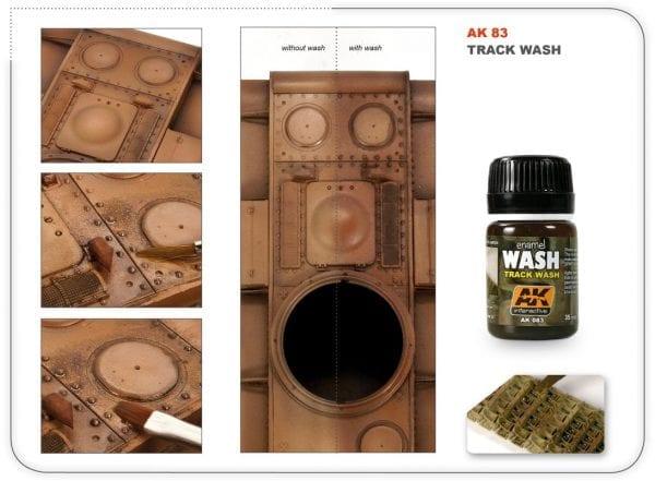 AK083 Track Wash