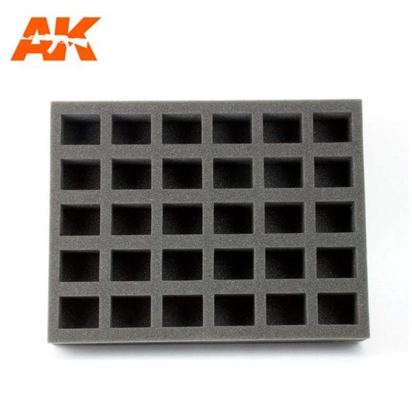 AK318 60ml rectangle foam