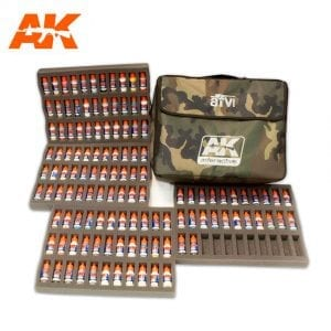 ak312 AFV SERIES ACRYLICS BAG LIMITED EDITION