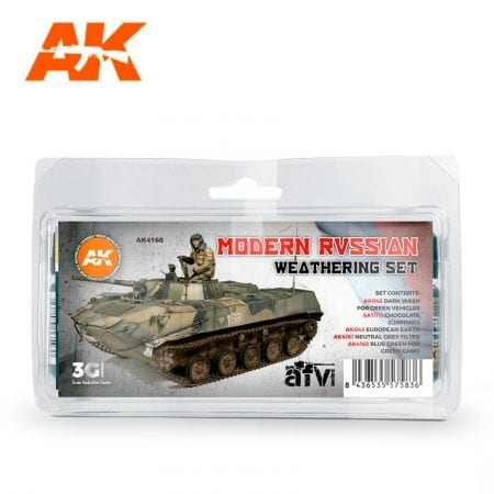 AK4160 weathering products set akinteractive