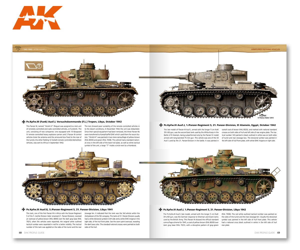 AK 271 D.A.K Profile Guide book