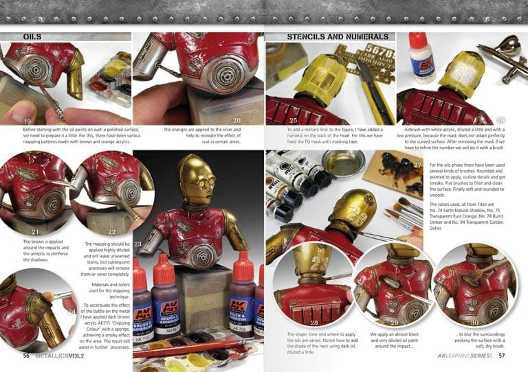 AK508 LEARNING 5 METALLICS VOL25