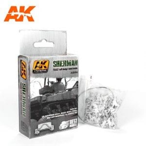 "AK684 sherman T54E2 ""cuff design"" metal tracks 1"