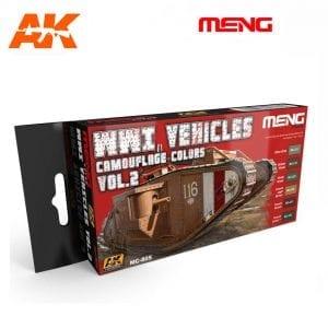 MC805 acrylic paint set meng akinteractive modeling