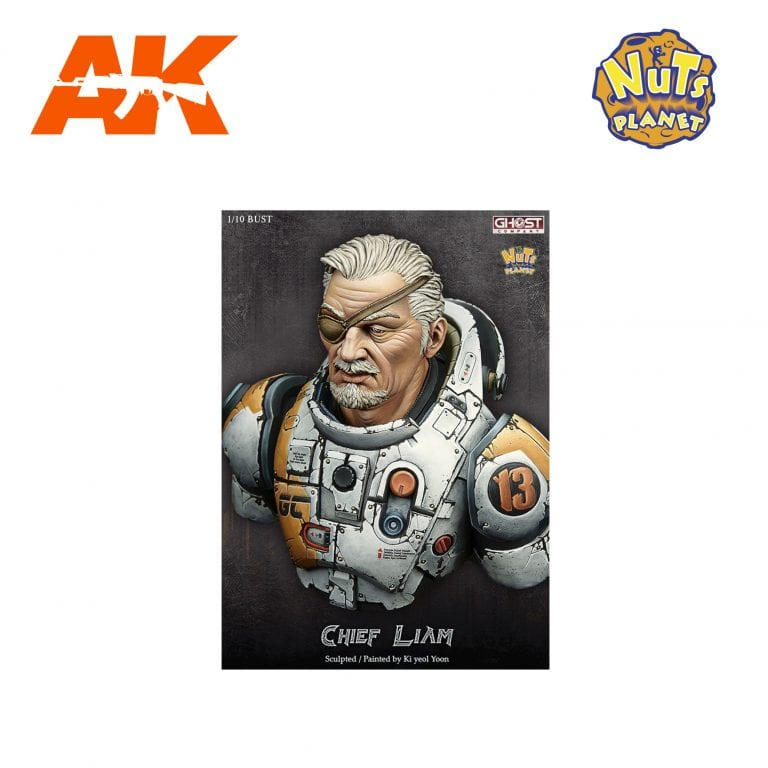 GC-B004 CHIEF LIAM AK-INTERACTIVE NUTS PLANET FIGURE