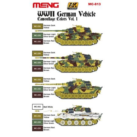 MC-813-WWII-German-Vehicle-Camouflage-Color-Vol