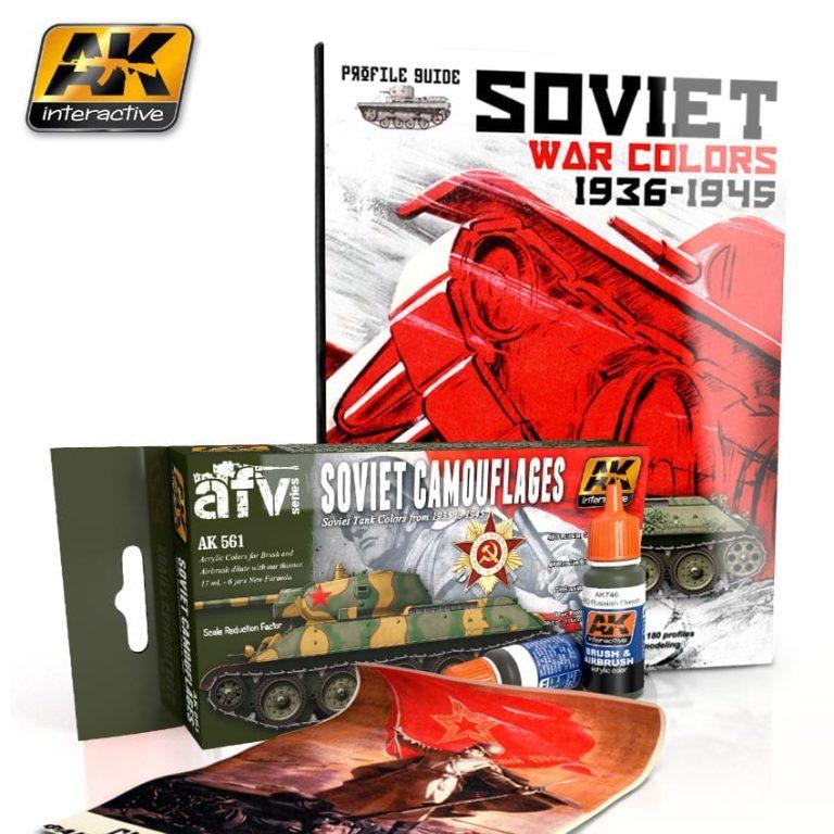 ww2 soviet colours