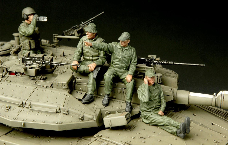 Meng Model 1//35 HS-002 IDF Tank Crew