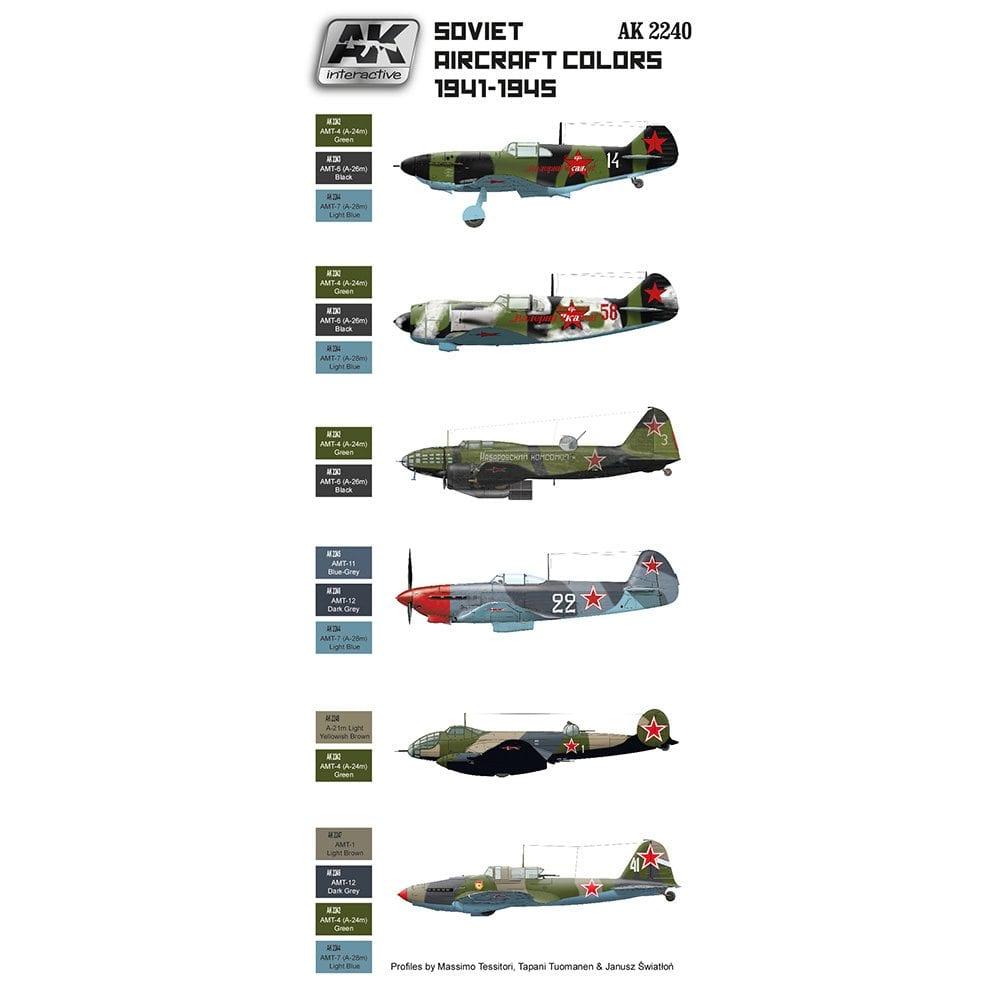 SOVIET AIRCRAFT COLOURS 1941-1945