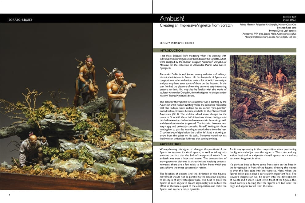 Scale Model Handbook: Figure modelling 14 - AK Interactive
