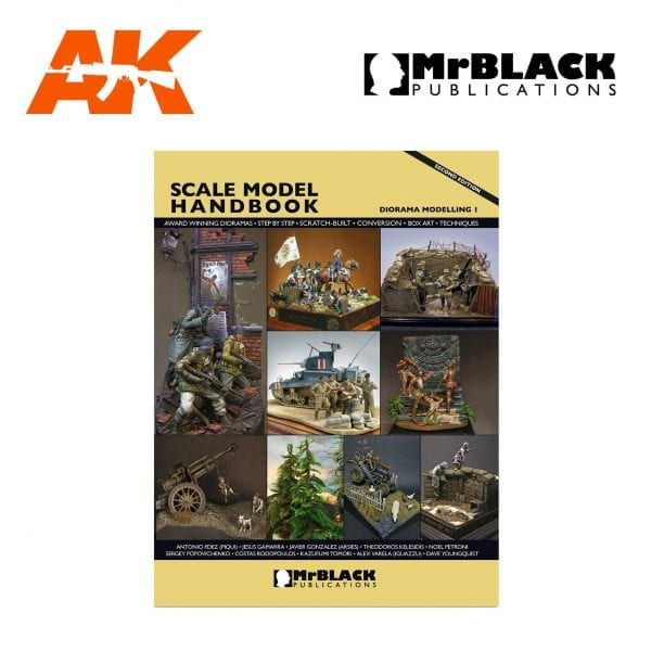 Scale Model Handbook diorama modelling 1 mr black publications ak-interactive