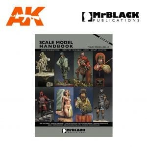 Scale Model Handbook Figure modelling 10 mr black publications ak-interactive