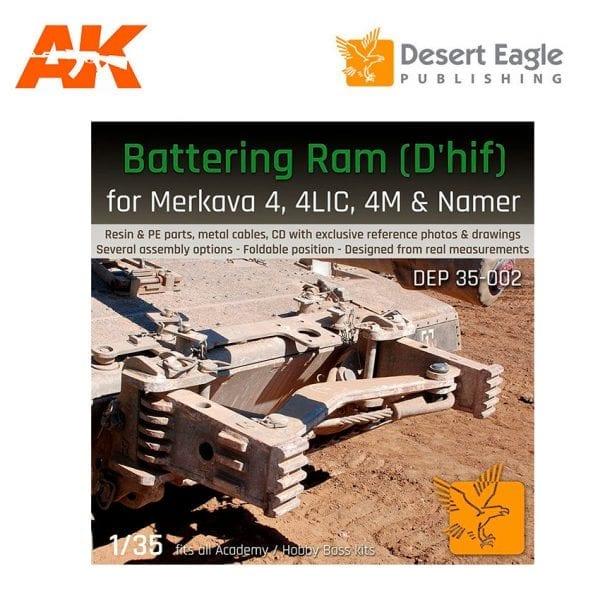 DEP-35002 Desert Eagle Plastic models