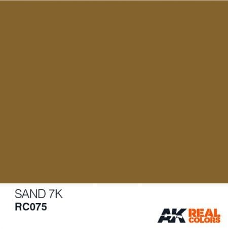 RC075 acrylic lacquer REAL COLOR AK