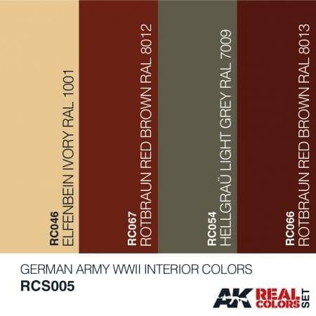 RCS005 REAL COLORS SET AK-INTERACTIVE