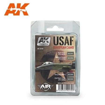 AK2130 usaf european camo