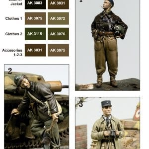 AK 3270 FRENCH UNIFORM COLORS IMP