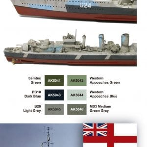 AK 5040 Royal Navy Camouflages SET 2