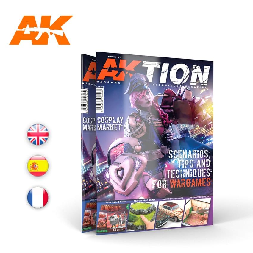 AKTION Nº1: The Wargame magazine