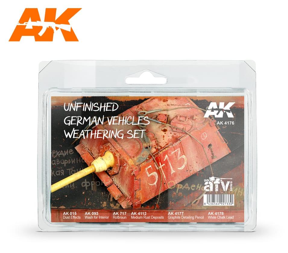 ak4176 UNFINISHED TANK GERMAN AK-INTERACTIVE MAY 2018
