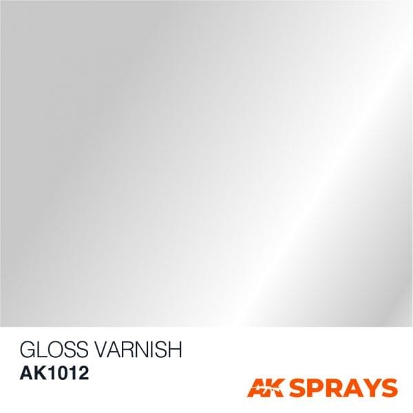 AK1012 color spray gloss varnish ak-interactive