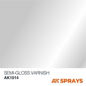 AK1014 COLOR spray ak-interactive SEMI GLOSS VARNISH SPRAY