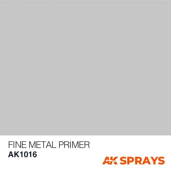 AK1016 COLOR ak-interactive spray FINE METAL PRIMER SPRAY