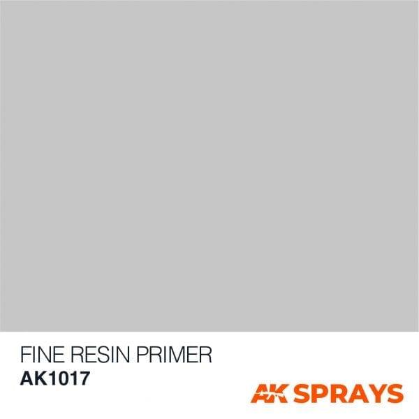 AK1017 COLOR ak-interactive spray FINE RESIN PRIMER SPRAY