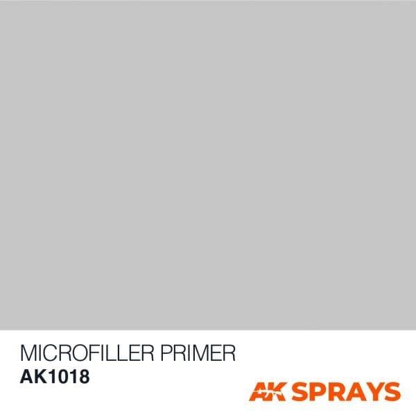 AK1018 COLOR ak-interactive spray MICROFILLER PRIMER SPRAY
