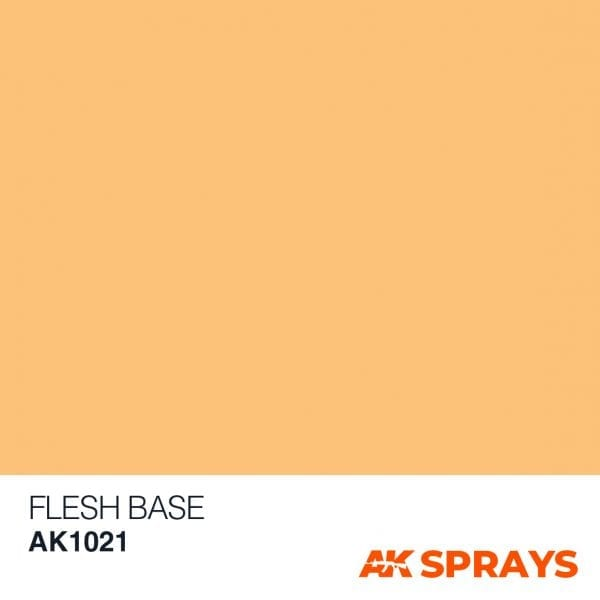 AK1021 COLOR spray ak-interactive FLESH BASE SPRAY