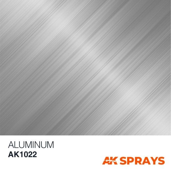 AK1022 COLOR spray ak-interactive ALUMINIUM SPRAY