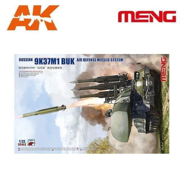 MM SS-014 russian 9K37M1 BUCK AIR DEFENSE MISSILE SYSTEM