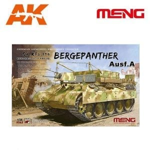 MM SS-015 1/35 German Armored Recovery Vehicle Sd.Kfz.179 AK-INTERACTIVE MENG
