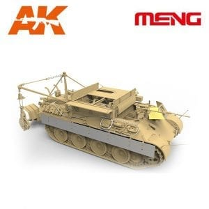 1/35 German Armored Recovery Vehicle Sd.Kfz.179 MENG AK-INTERACTIVE