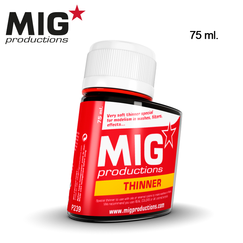 Thinner para lavados (75ml)