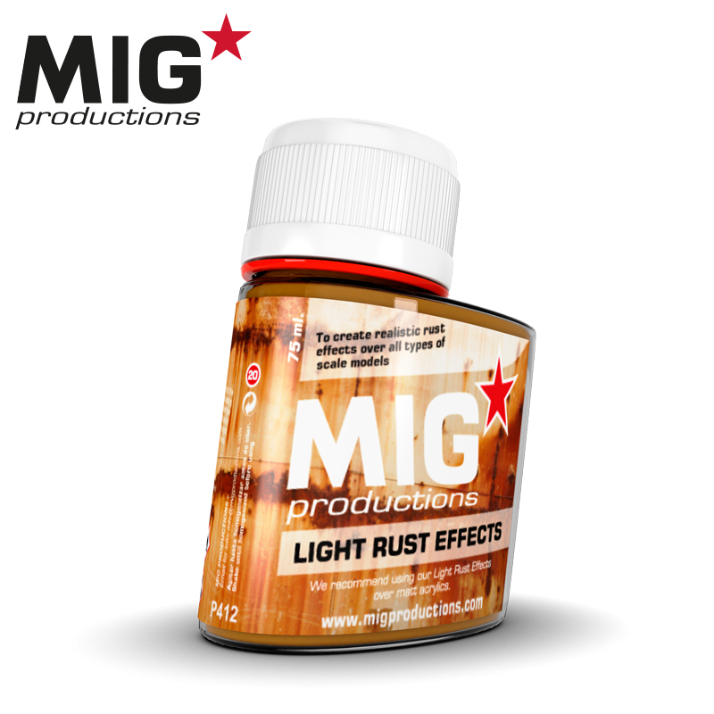 Light Rust effects (75ml)